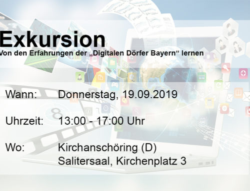 "TERMINAVISO Exkursion ""Digitale Dörfer Bayern"""