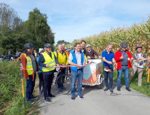 Neue Radwege in Wels und Krenglbach eröffnet!