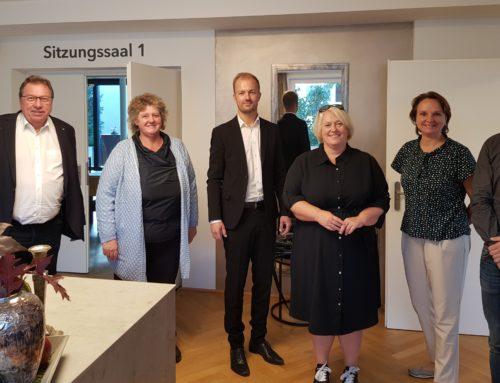 Neuer Geschäftsführer der RM OÖ besucht Geschäftsstelle Wels-Eferding