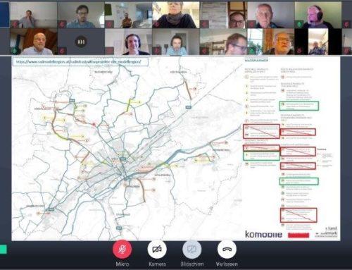 Dritte stadtregionale Planungswerkstatt in der Stadtregion Wels zum Thema Radhauptrouten
